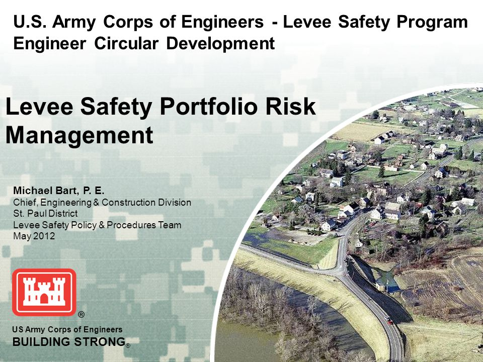 BUILDING STRONG ® Without Further Adieu  Maria Wegner-Johnson ► Headquarters USACE, ► Planning Community of Practice