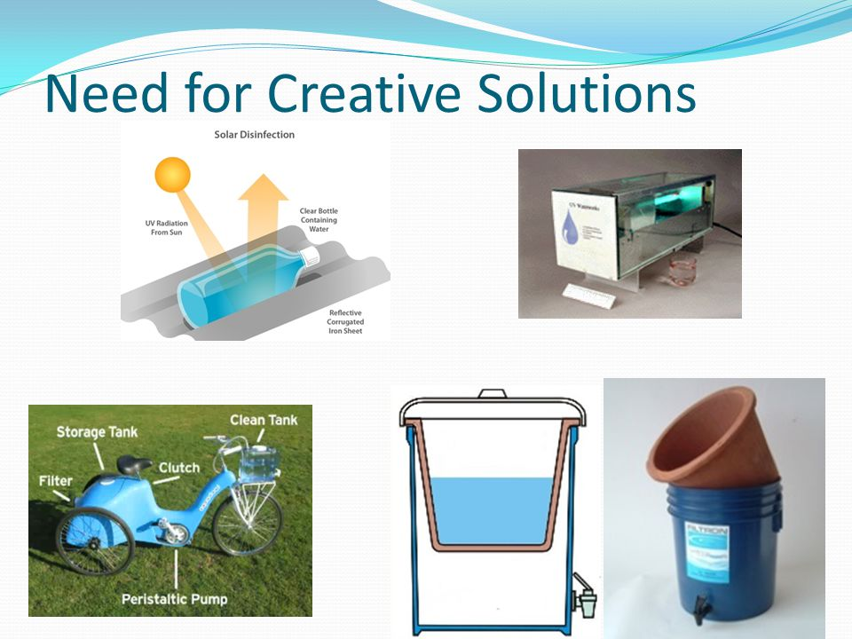 Need for Creative Solutions