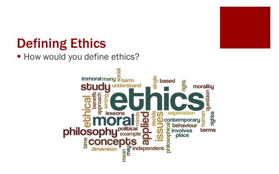 Resolving an Ethical Dilemma  Good ethical practice requires that all of the Consequences of any potential Course of Action be determined before taking that action.