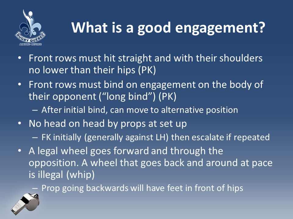 What is a good engagement.