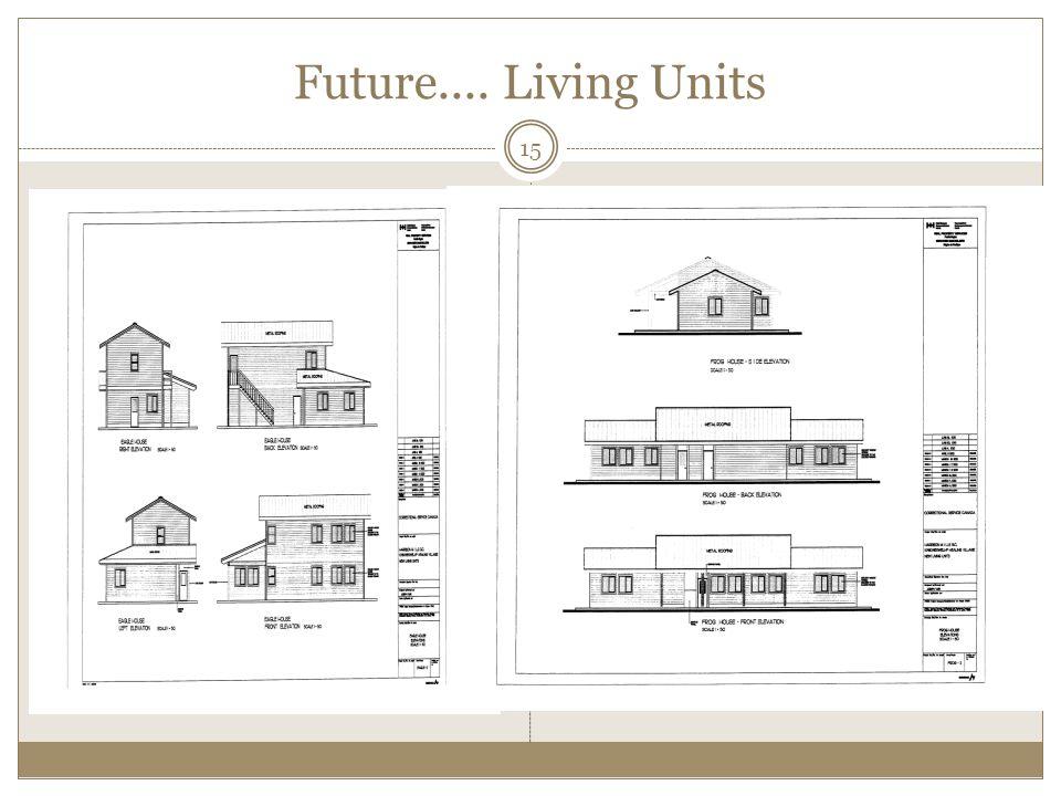 Future.... Living Units 15