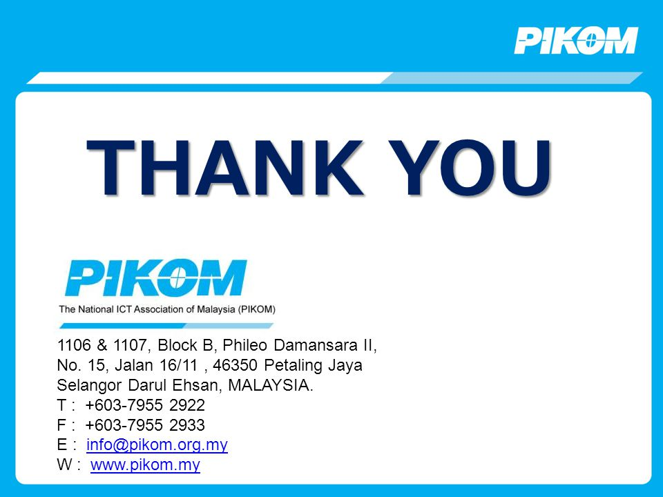 THANK YOU 1106 & 1107, Block B, Phileo Damansara II, No.