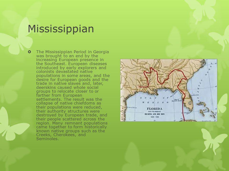 Mississippian Indians DatesA.D.