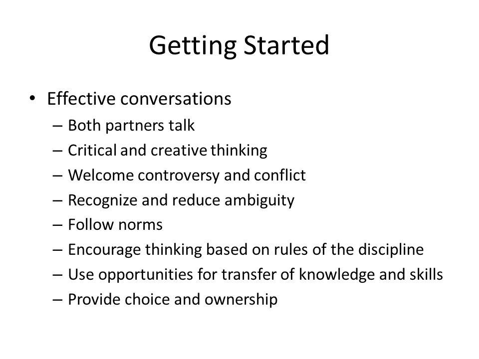 Student Talk vs.