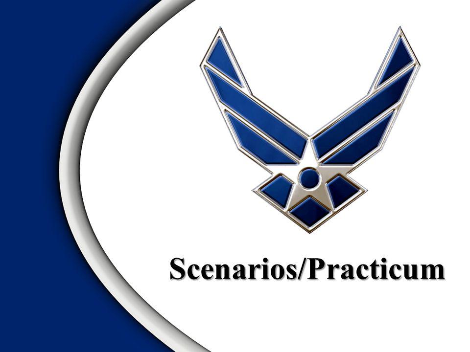 Scenarios/Practicum