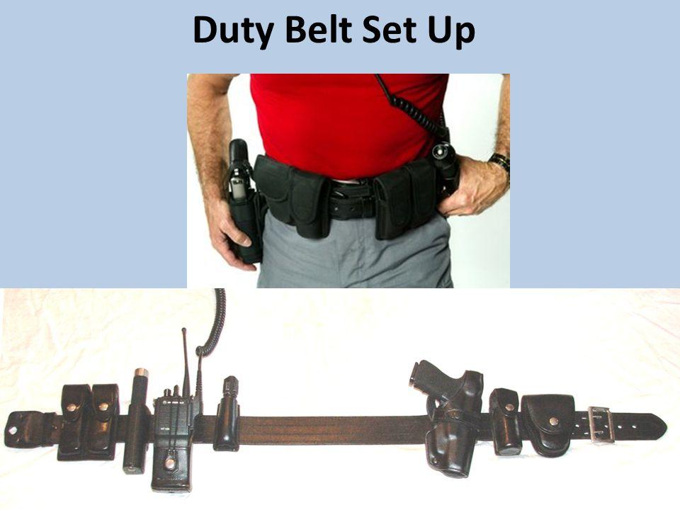 Duty Belt Set Up