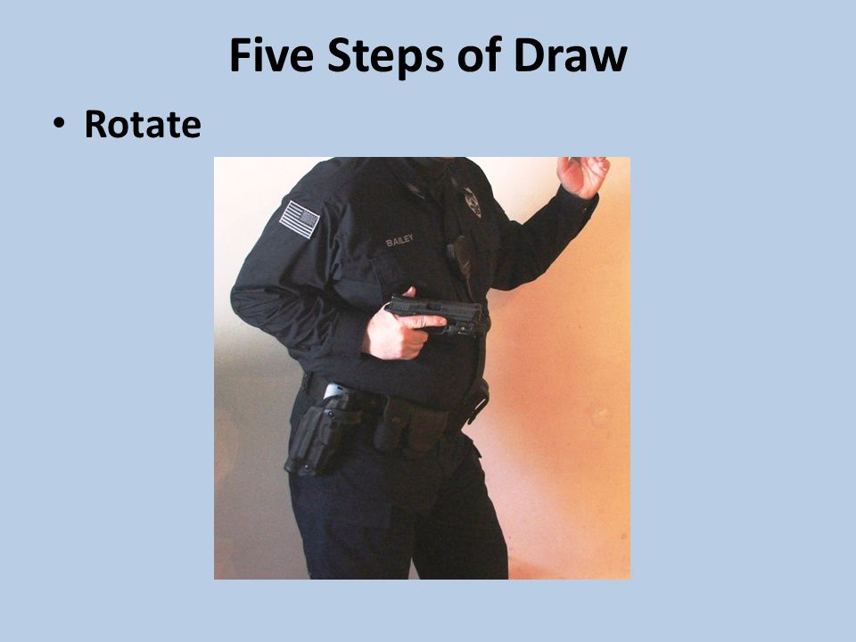 Five Steps of Draw Rotate