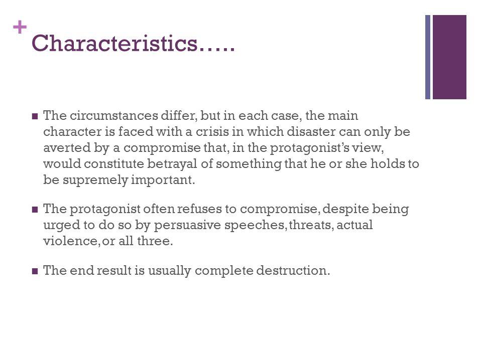 + Characteristics…..