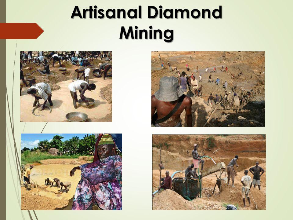 Artisanal Diamond Mining
