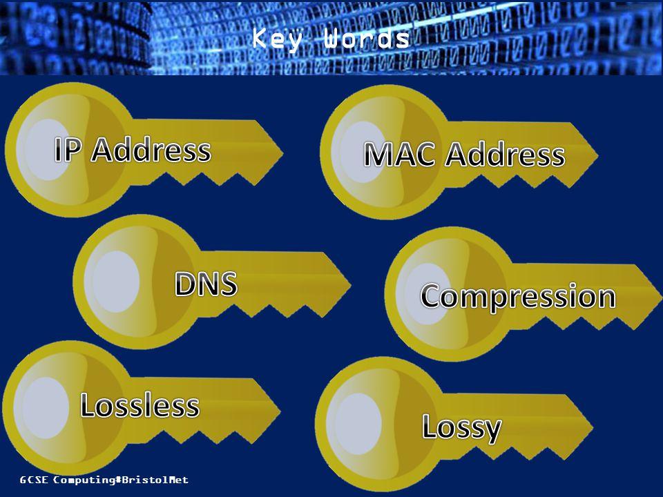 GCSE Computing#BristolMet Key Words