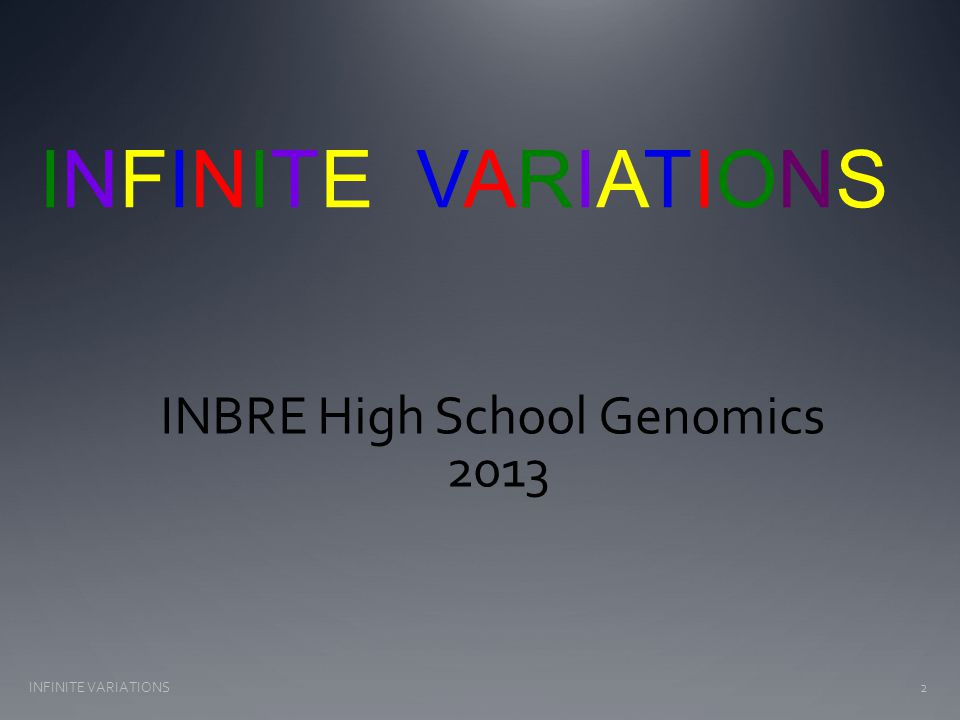 Genomics is driving a revolution in Genetics: DNA sequencing of 14,002 individuals for 202 drug metabolism genes rare variants occur every 17 bp (rare = 1 or 2 SNV in 14,000) over 50 variants per 1000 bases (NS<UTR<S<Intron) DNA sequencing 15,585 genes in 2440 individuals 500,000 rare variants found ~13,595 variants per person variants found effect protein function ~313 genes per genome 95% of rare variants effecting function are RARE S and NS close In excess of 11,700 Copy Number Variations (> 1 kb) are known (tip of iceberg) In summary: Each of us likely within our genomes 35 Nonsense mutations >100 variants that cause loss of protein function TRUE individual variation for evolution/selection 3INFINITE VARIATIONS