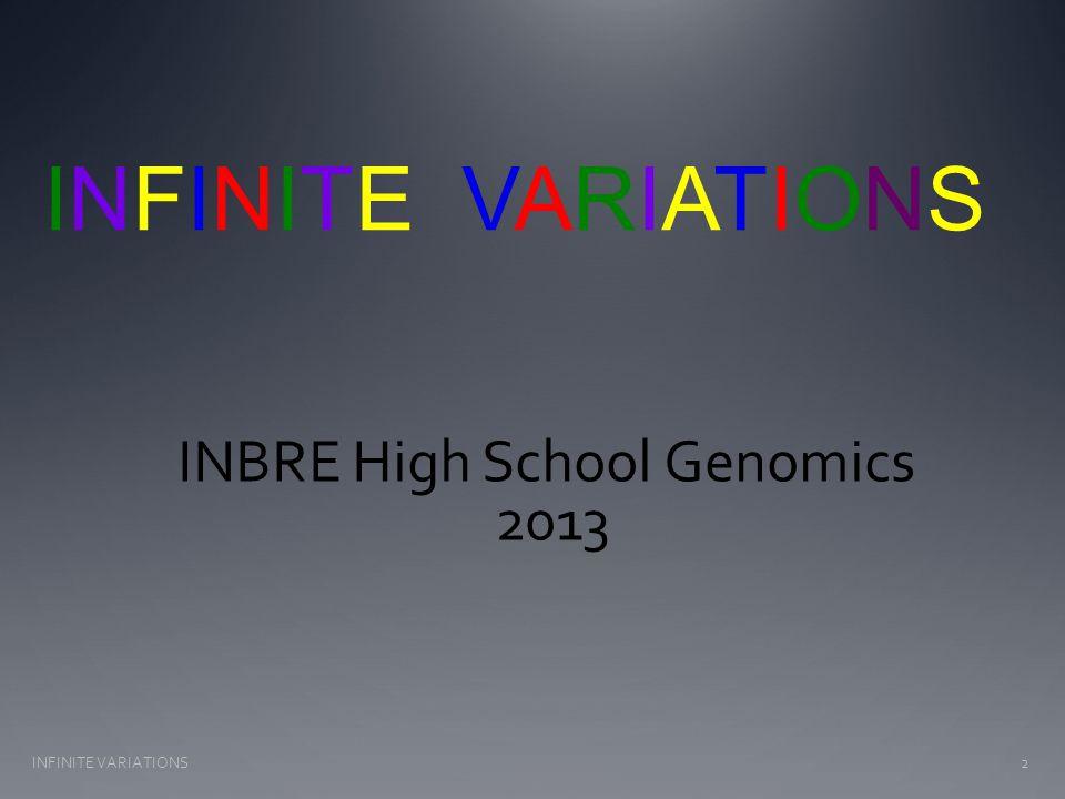 Variations typed in Lab INFINITE VARIATIONS33