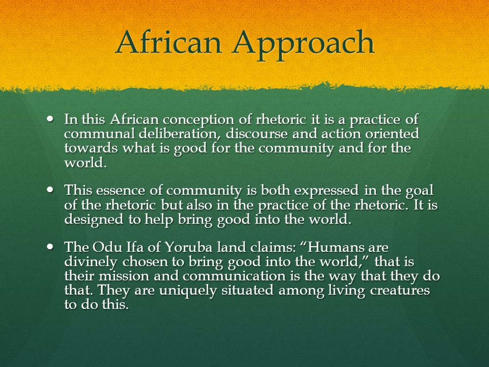 Kawaida Philosophy What Africa has to offer to the understanding of human communication in the interest of benefiting all humanity.