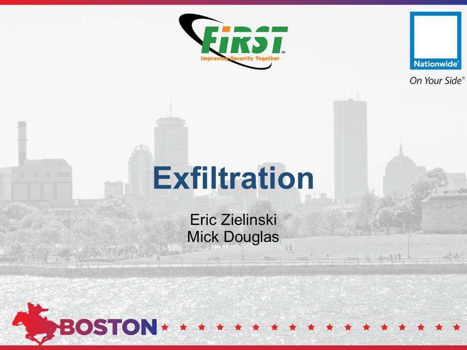 Exfiltration Eric Zielinski Mick Douglas