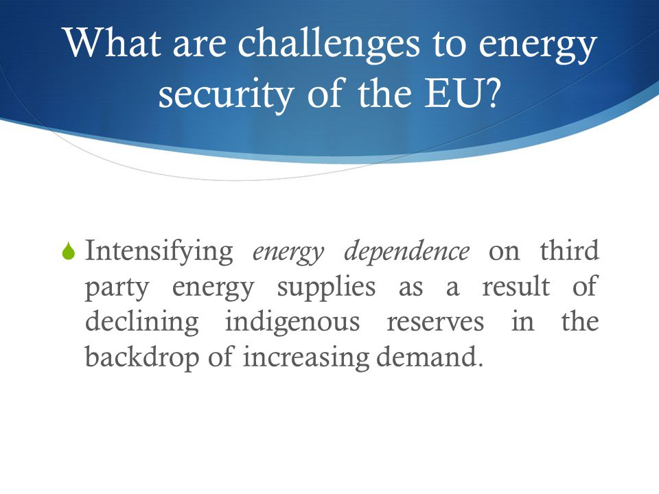EU's natural gas balance 2009-2035 New Policies Scenario (implementing declared policy commitments)