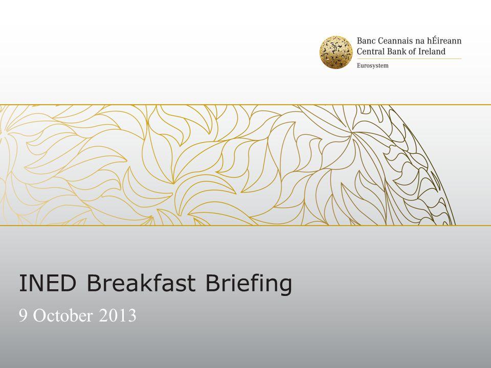 INED Breakfast Briefing 9 October 2013