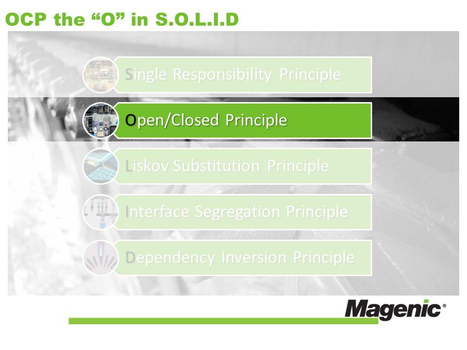 OCP the O in S.O.L.I.D