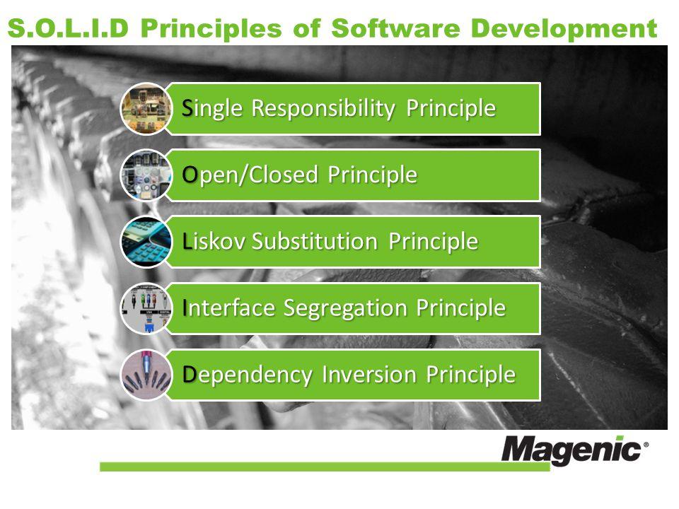 S.O.L.I.D Principles of Software Development