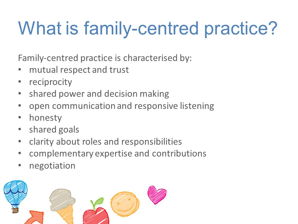 What is family-centred practice.