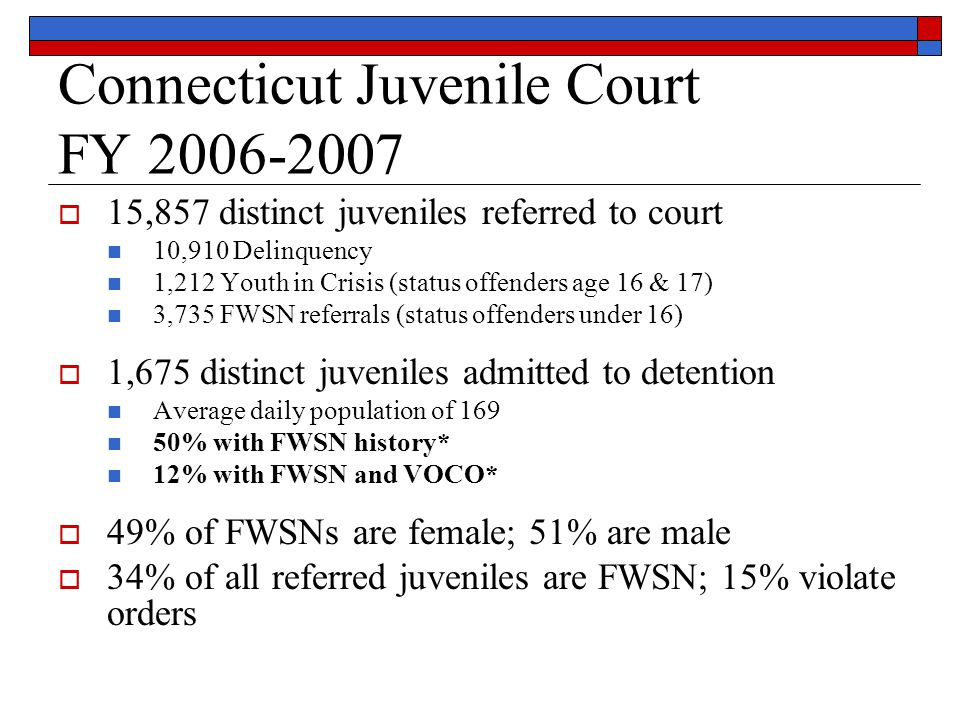Connecticut Contact Information  Erika Nowakowski 860-721-2199 ext 3141 Erika.Nowakowski@jud.ct.gov  Kimberly Selvaggi 860-721-2171 Kimberly.Selvaggi@jud.ct.gov  State of Connecticut, Judicial Branch Court Support Services Division 936 Silas Deane Highway Wethersfield, CT 06109