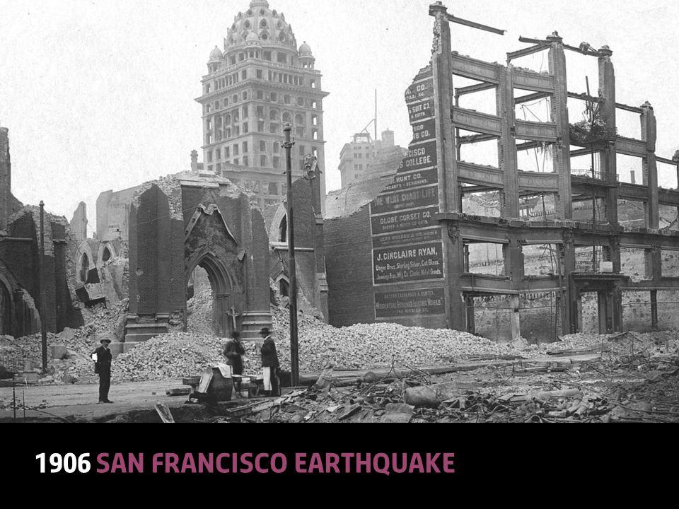 © Lloyd'sA Colourful History18 1906 San Francisco earthquake