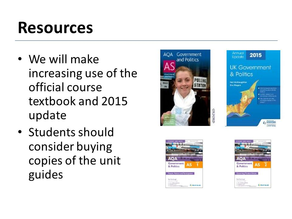 Resources We have greatly expanded the range of resources available through the academy library
