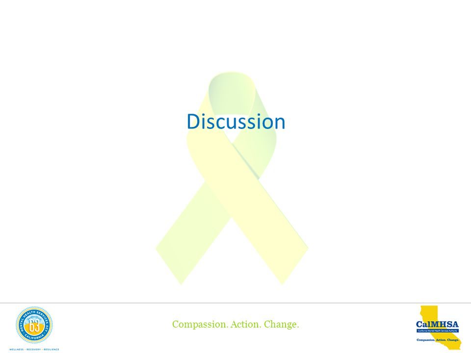 Compassion. Action. Change. Discussion