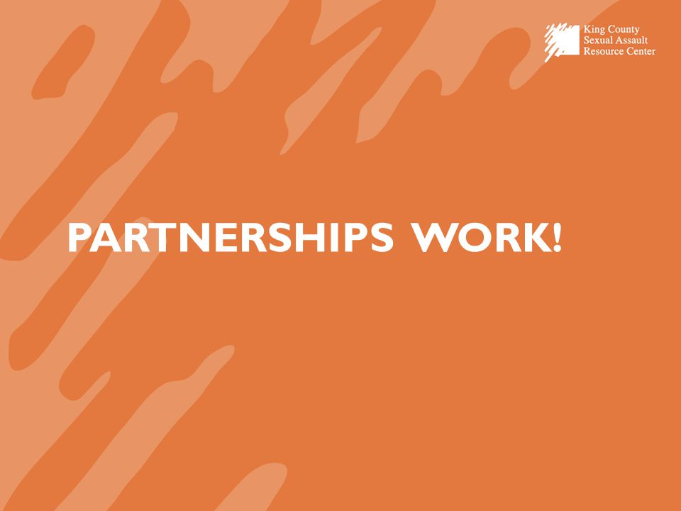 PARTNERSHIPS WORK!