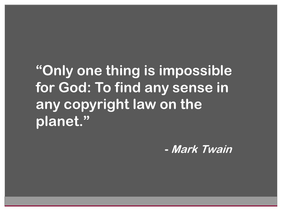 If you ask a lawyer a question about copyright, you likely will get one of two answers: Maybe or It depends