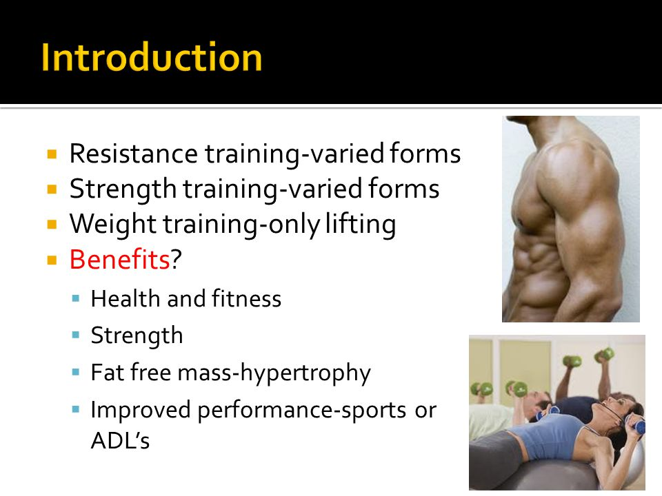  Basic Principles  Overload  Specificity  Goals  Power  Strength  Hypertrophy  Muscular endurance  Critical Variables  CO-FIVR-P