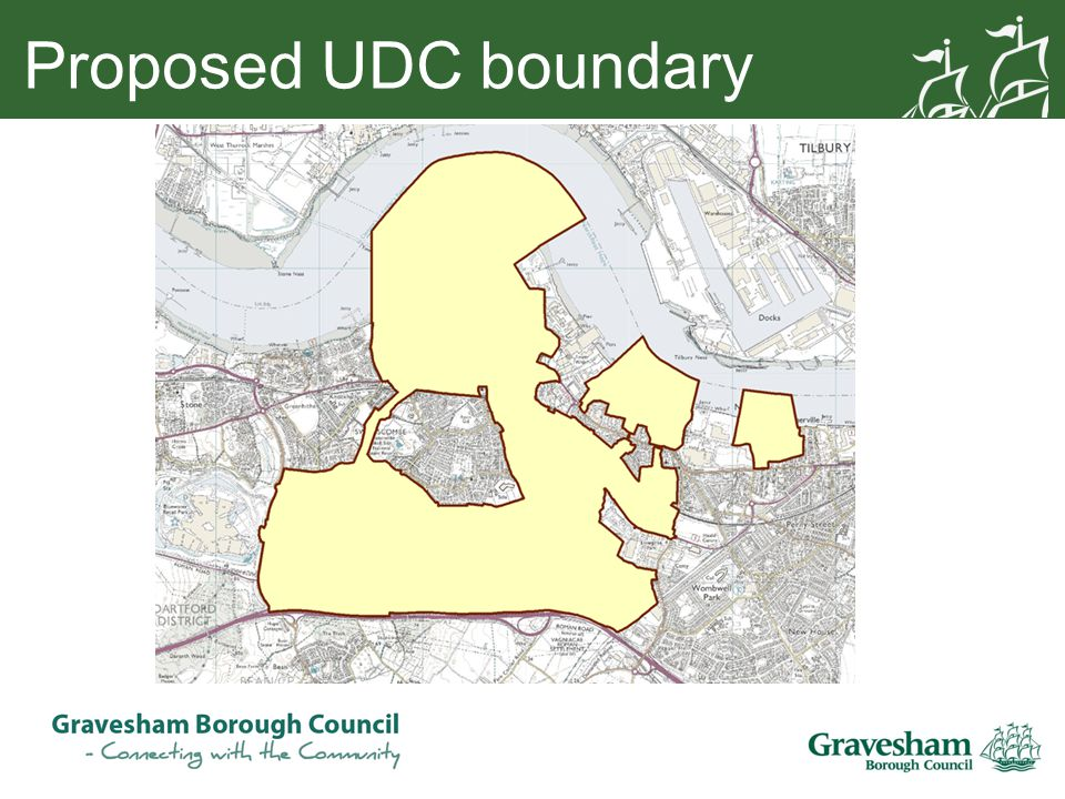 Proposed UDC boundary