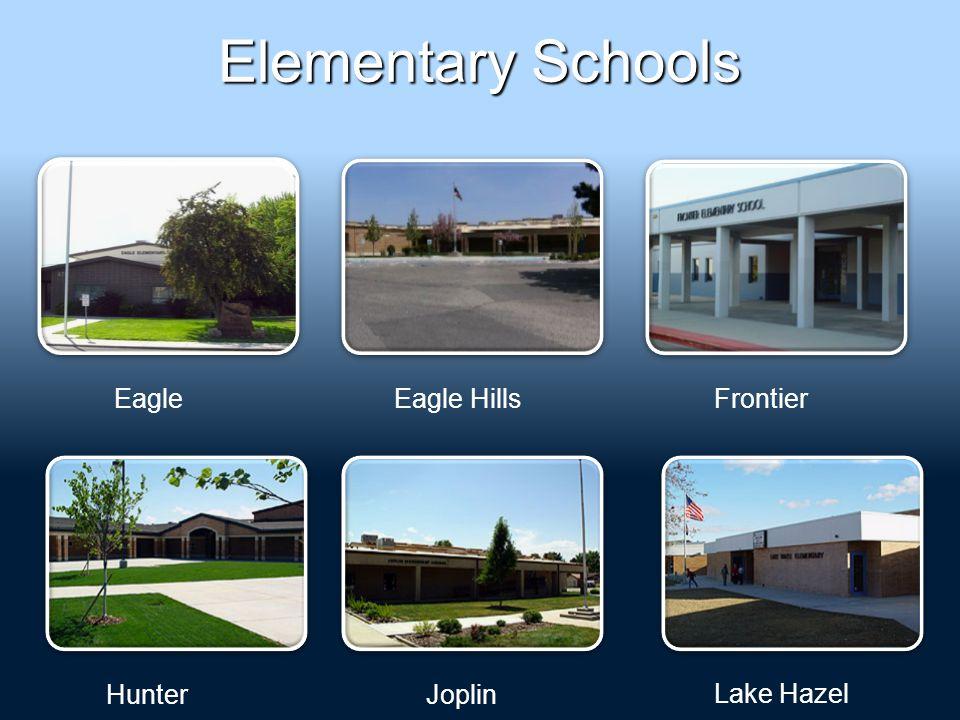 Elementary Schools EagleEagle HillsFrontier HunterJoplin Lake Hazel