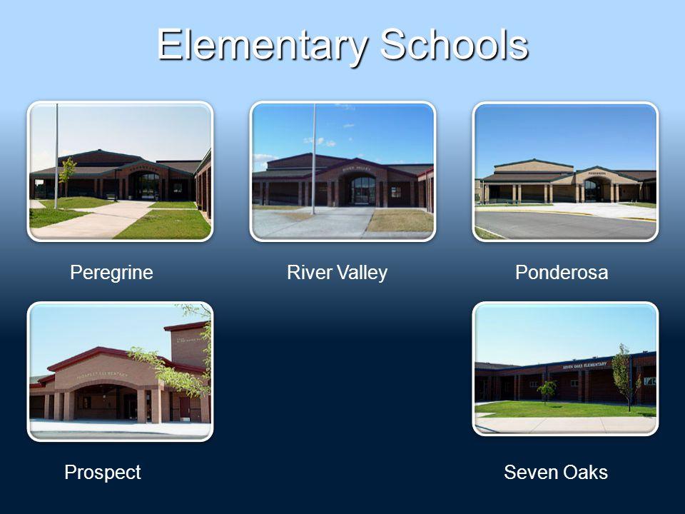 Elementary Schools PeregrinePonderosa Prospect River Valley Seven Oaks