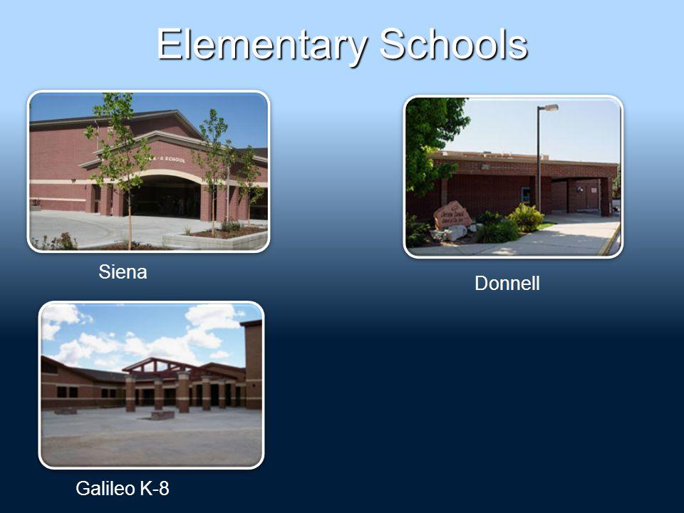 Elementary Schools Galileo K-8 Donnell Siena