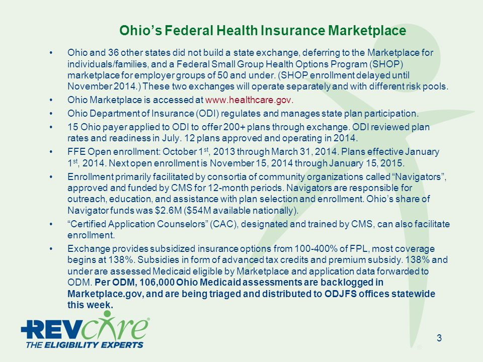 Bronze and Silver Plans in Northeastern Ohio 24 Buckeye: Ambetter Anthem: Direct Access Aultcare: Silver , Bronze CareSource: Just4me SummaCare: SummaCare Individual Kaiser: KP Silver , KP Bronze Molina: Molina Marketplace Paramount : Paramount HMO [Silver] HealthSpan: HealthSpanOne HealthAmerica One: Silver , Bronze Silver and Bronze QHPs in Northeastern Ohio (with Marketplace plan names) Source: CMS/HHS; data.healthcare.gov