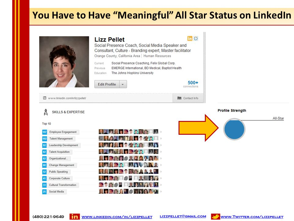 "You Have to Have ""Meaningful"" All Star Status on LinkedIn"