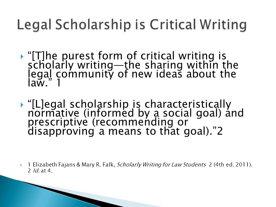  The text and footnote excerpts on the following slides are all quoted from the following student note: Adam K.
