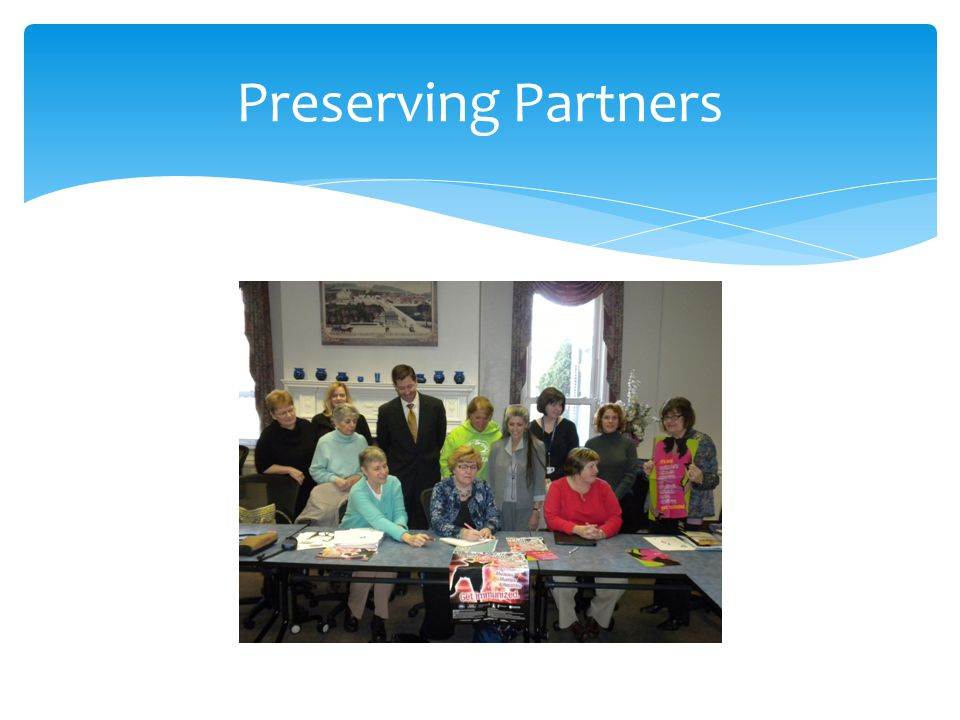 Preserving Partners