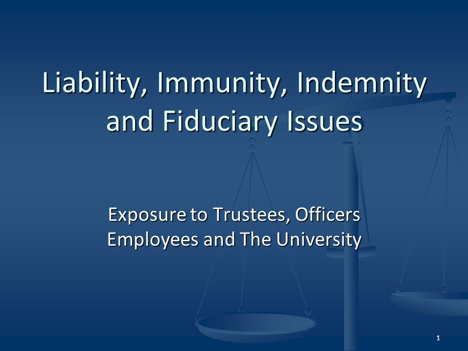 Civil Actions Under State Law If a civil action is brought against a trustee under state law (Ohio)...