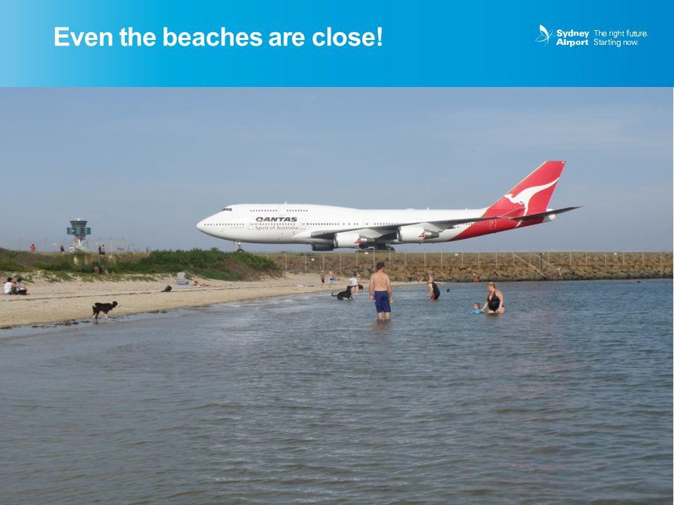 Even the beaches are close! 5