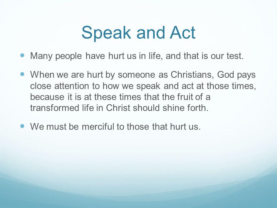 Be Merciful Mk.
