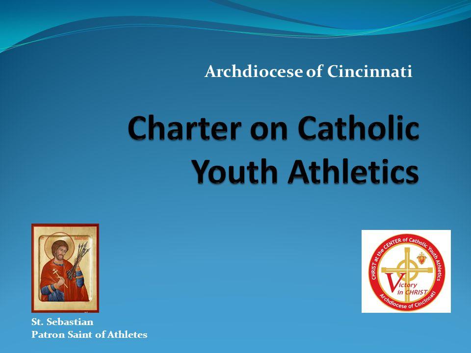 Archdiocese of Cincinnati St. Sebastian Patron Saint of Athletes