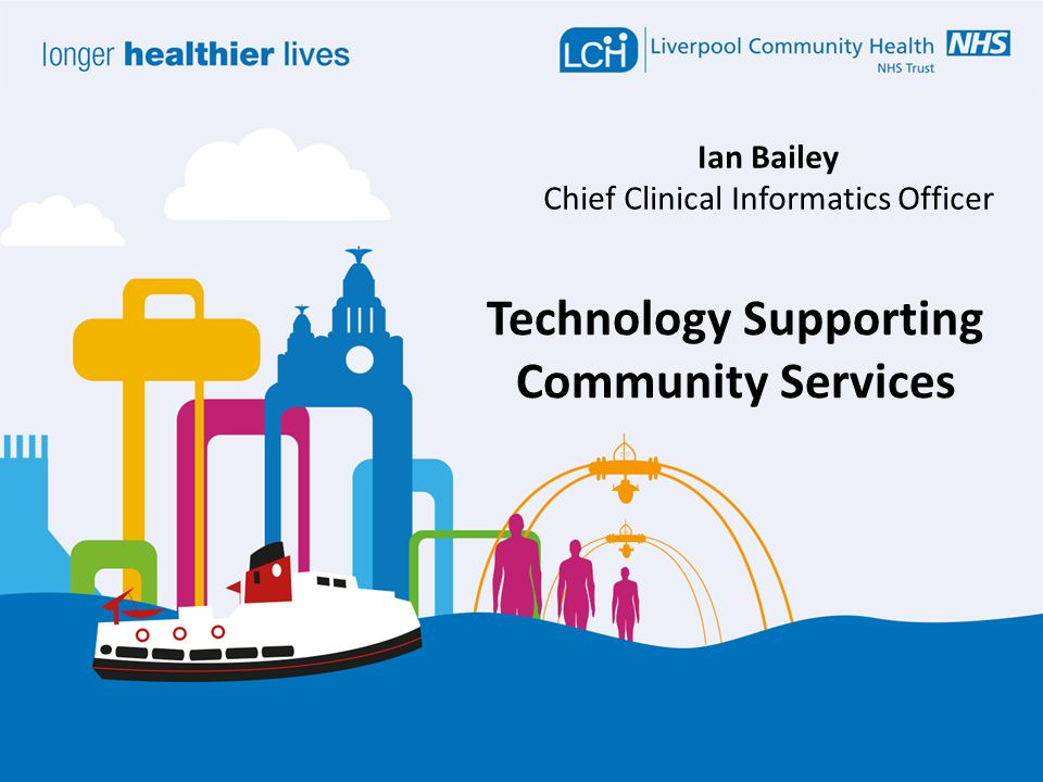 Ian Bailey Chief Clinical Informatics Officer Technology Supporting Community Services