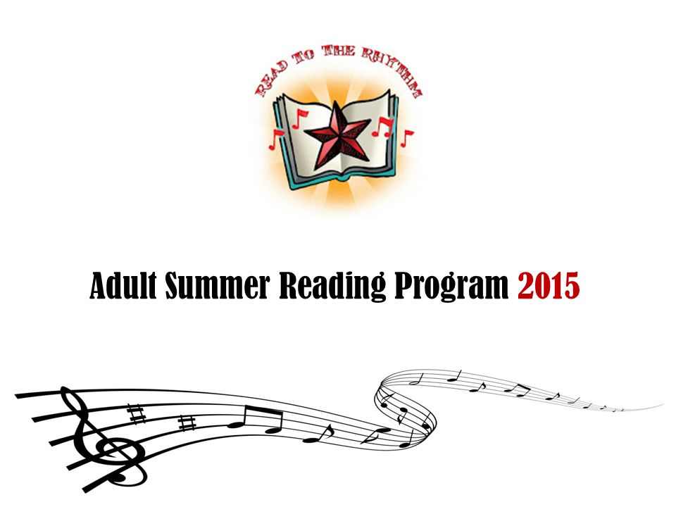 Adult Summer Reading Program 2015