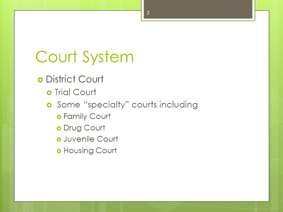3 Juvenile Court: What Types of Cases.