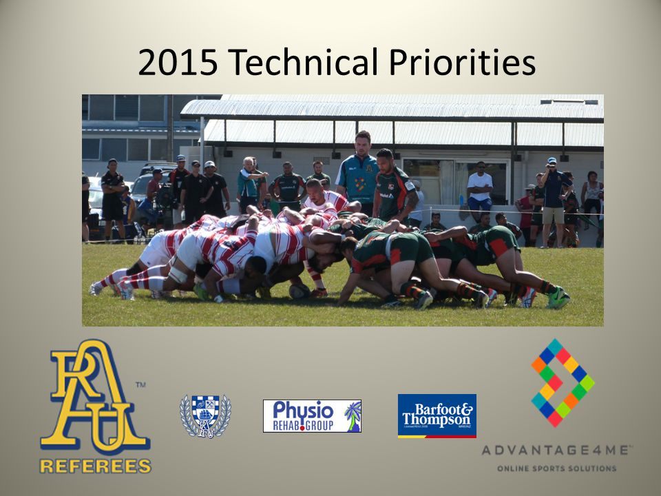 Technical Priorities 2015 1.