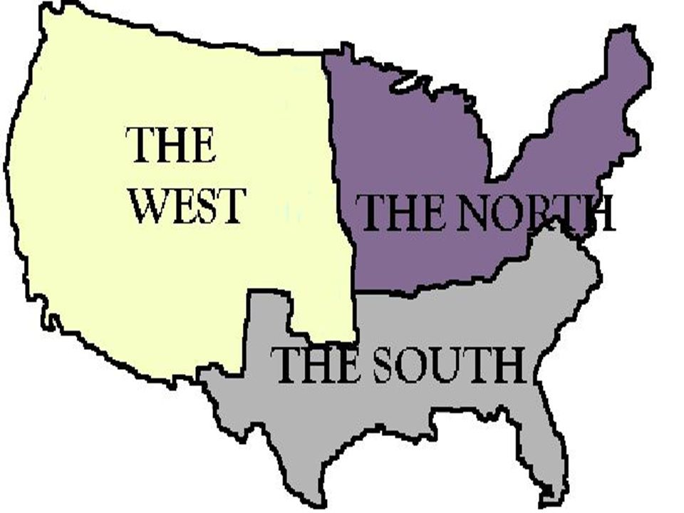 THINK From yesterday, Which factor of PERS do you believe defines the Northern section of the United States.
