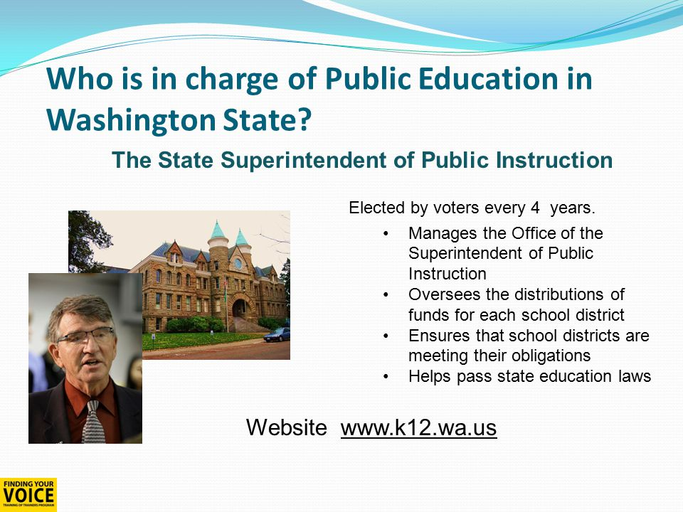 Toll free 1-866-297-2597 www.waparentslearn.org How you can make a difference Citizen Participation at School Board Meetings School board meetings must be open to the public Agendas must be made public at least 24 hours in advance.