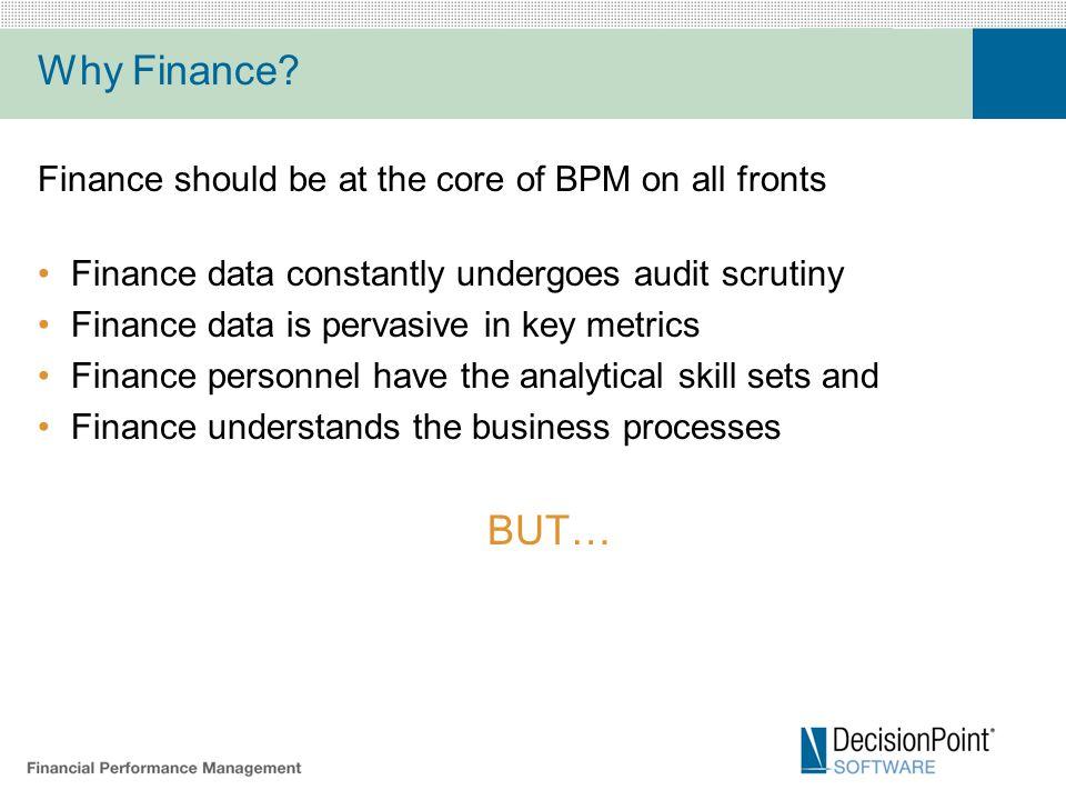 Why Finance.