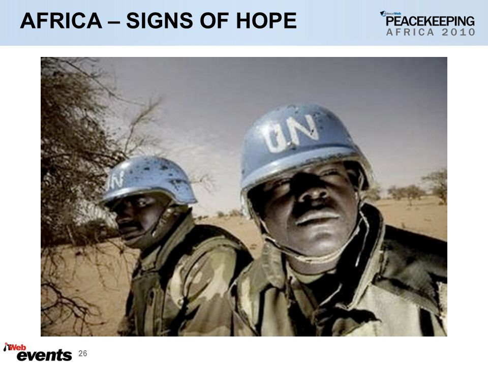 26 AFRICA – SIGNS OF HOPE